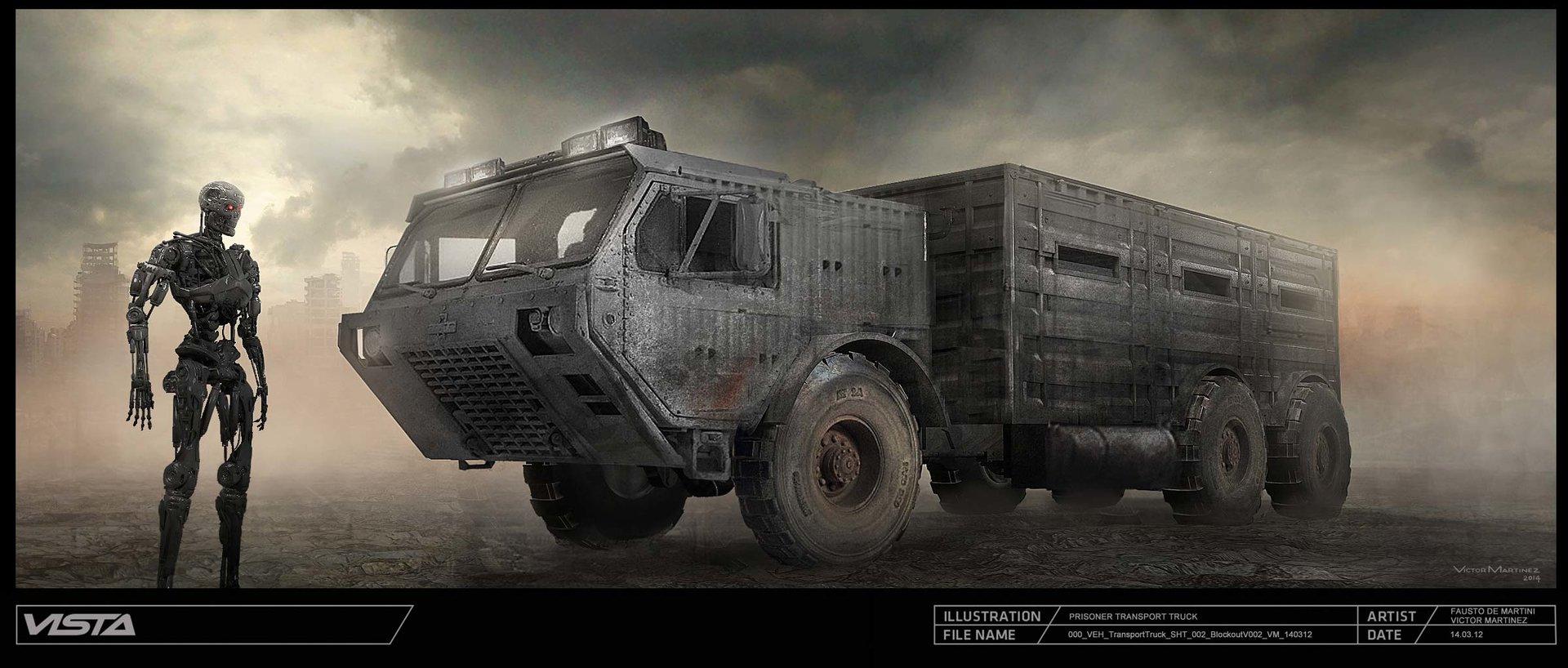 Victor martinez 000 veh transporttruck sht 002 blockoutv001 vm 140312