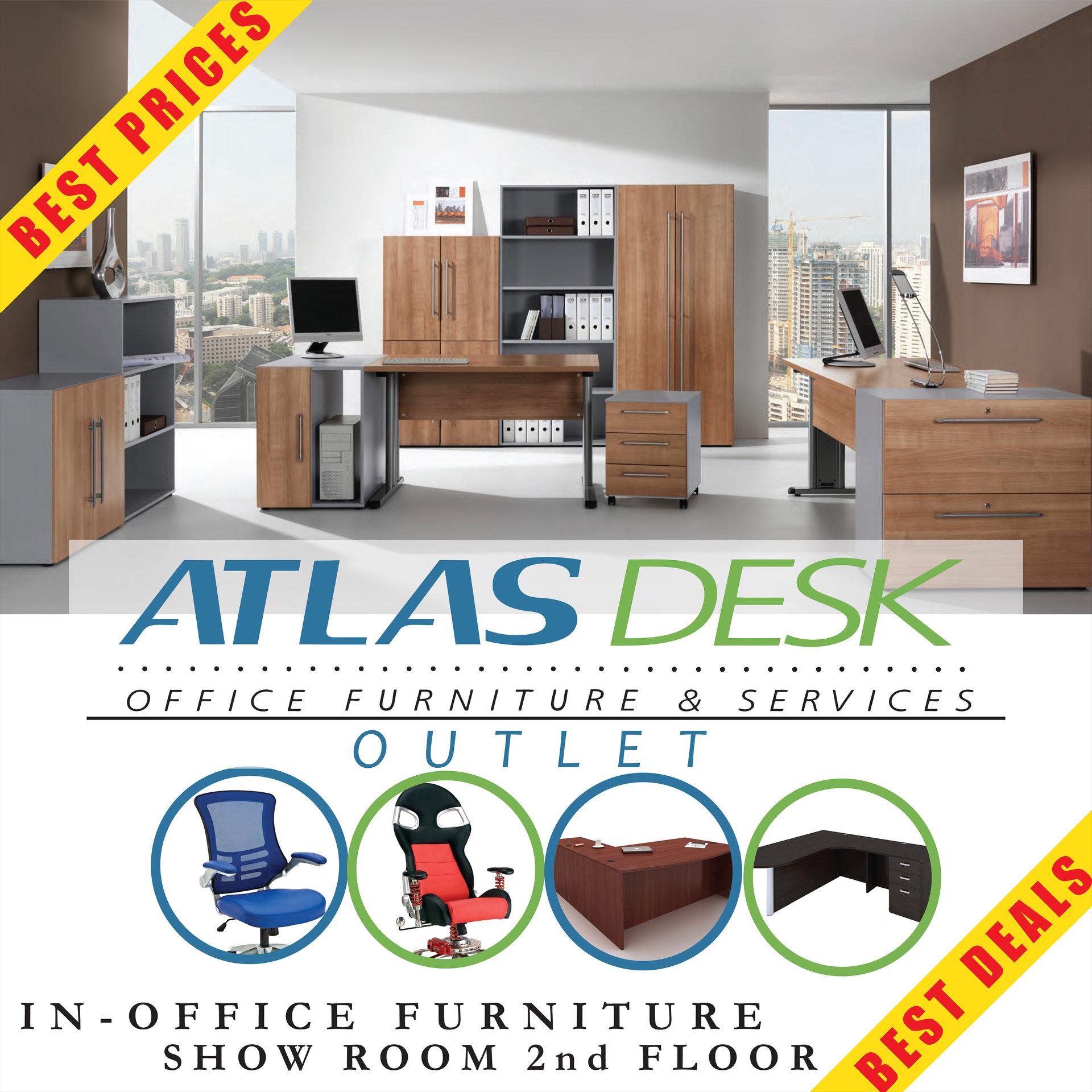Miles Johnson Atlas Furniture Poster Small