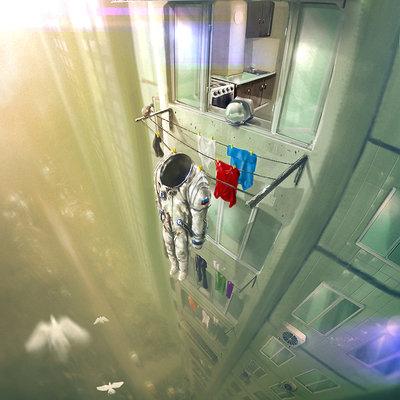 Dmitriy kuzin space suit