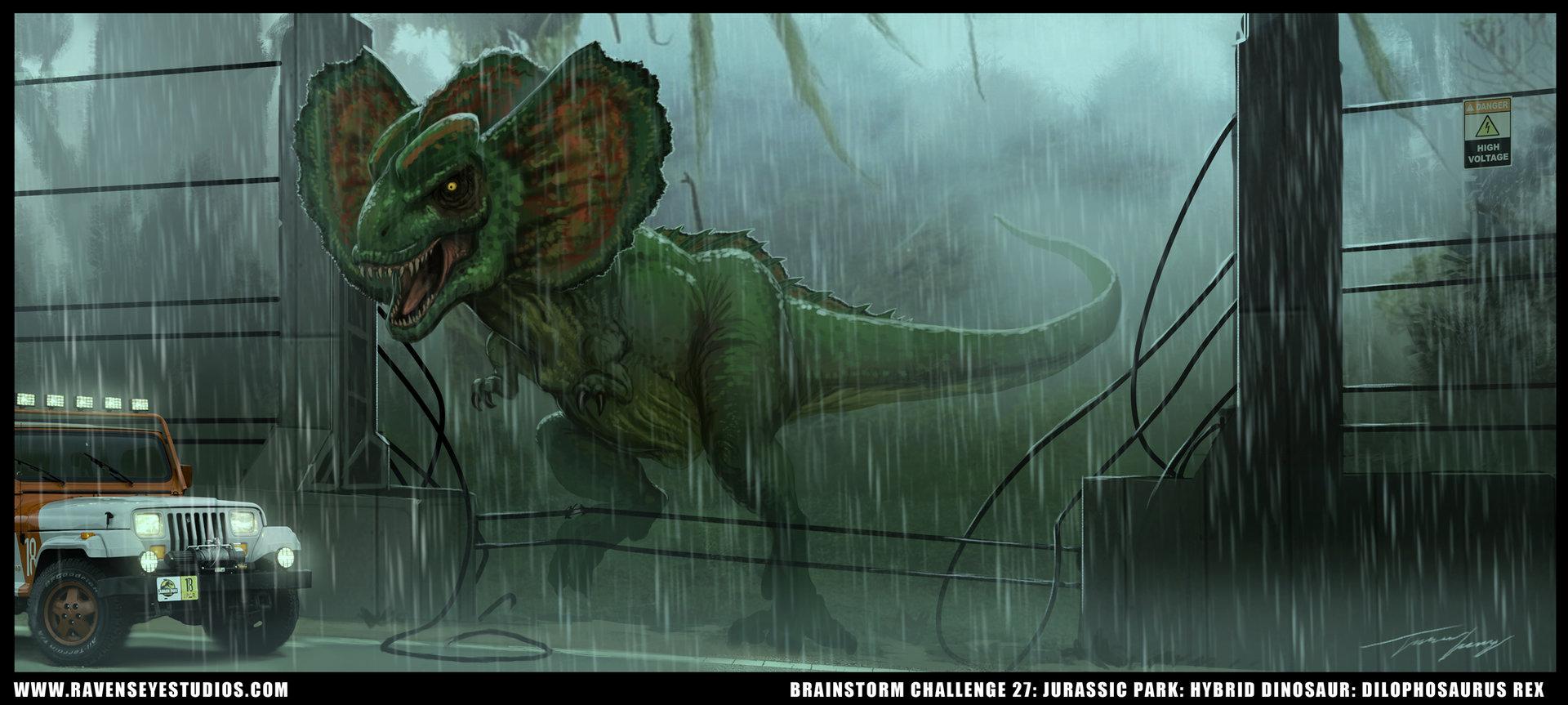 Artstation dilophosaurus rex travis lacey for Rex architecture p c