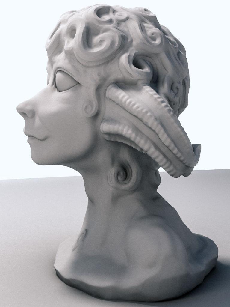 Christopher barischoff faun clay 0010 0002