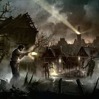 Ward lindhout the evil within debut village small