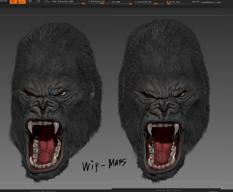 Wip - Gorilla