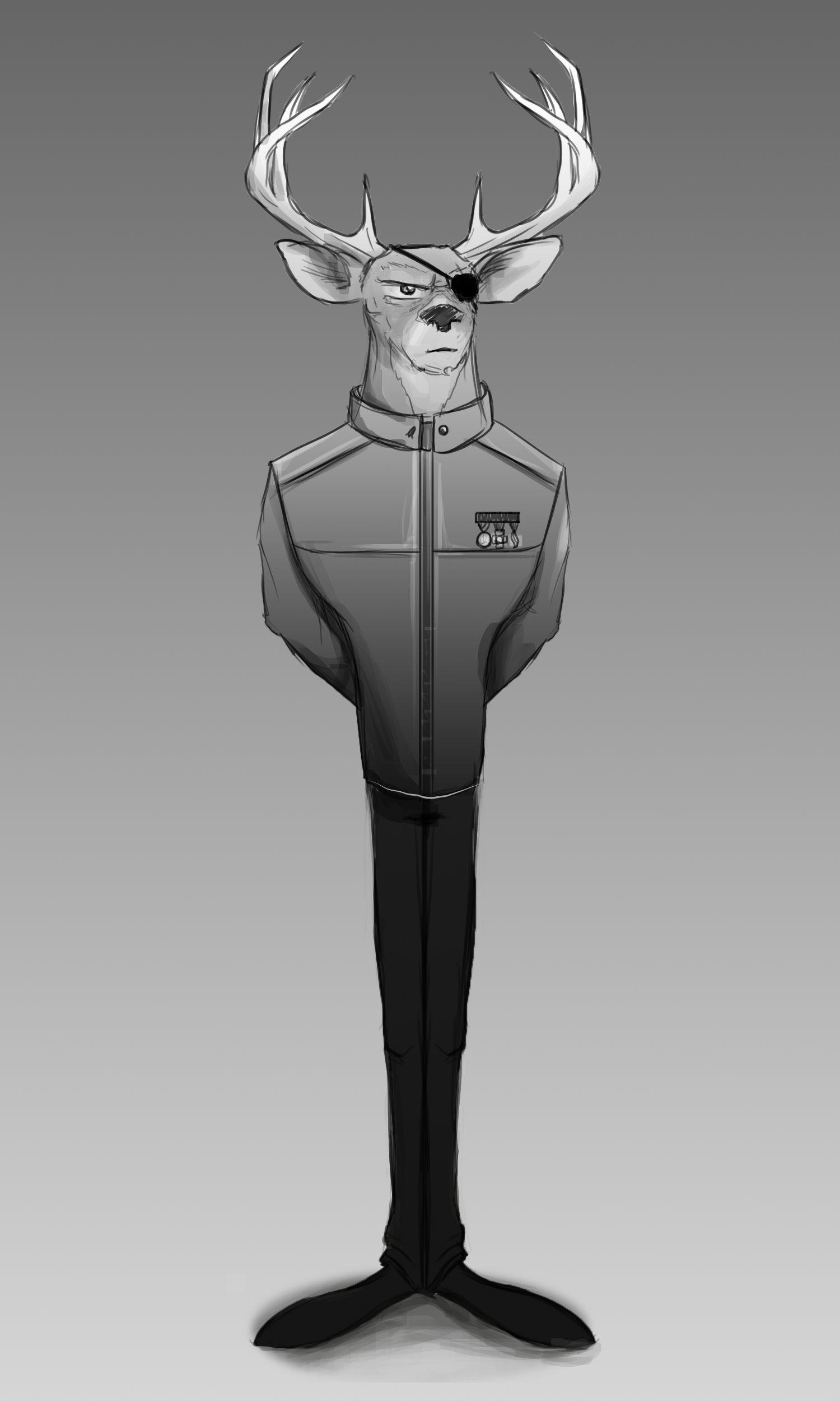 Jesse henao monroy deer sketch