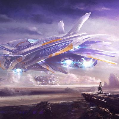 Dmitriy kuzin ship concept