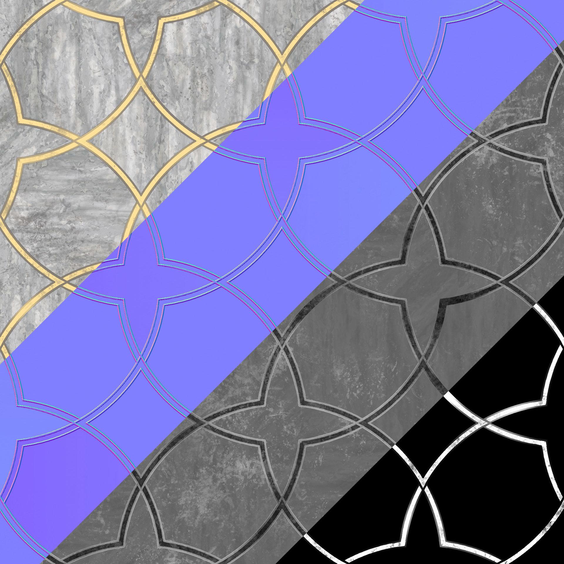 Stevans robert ornatedmarble textures