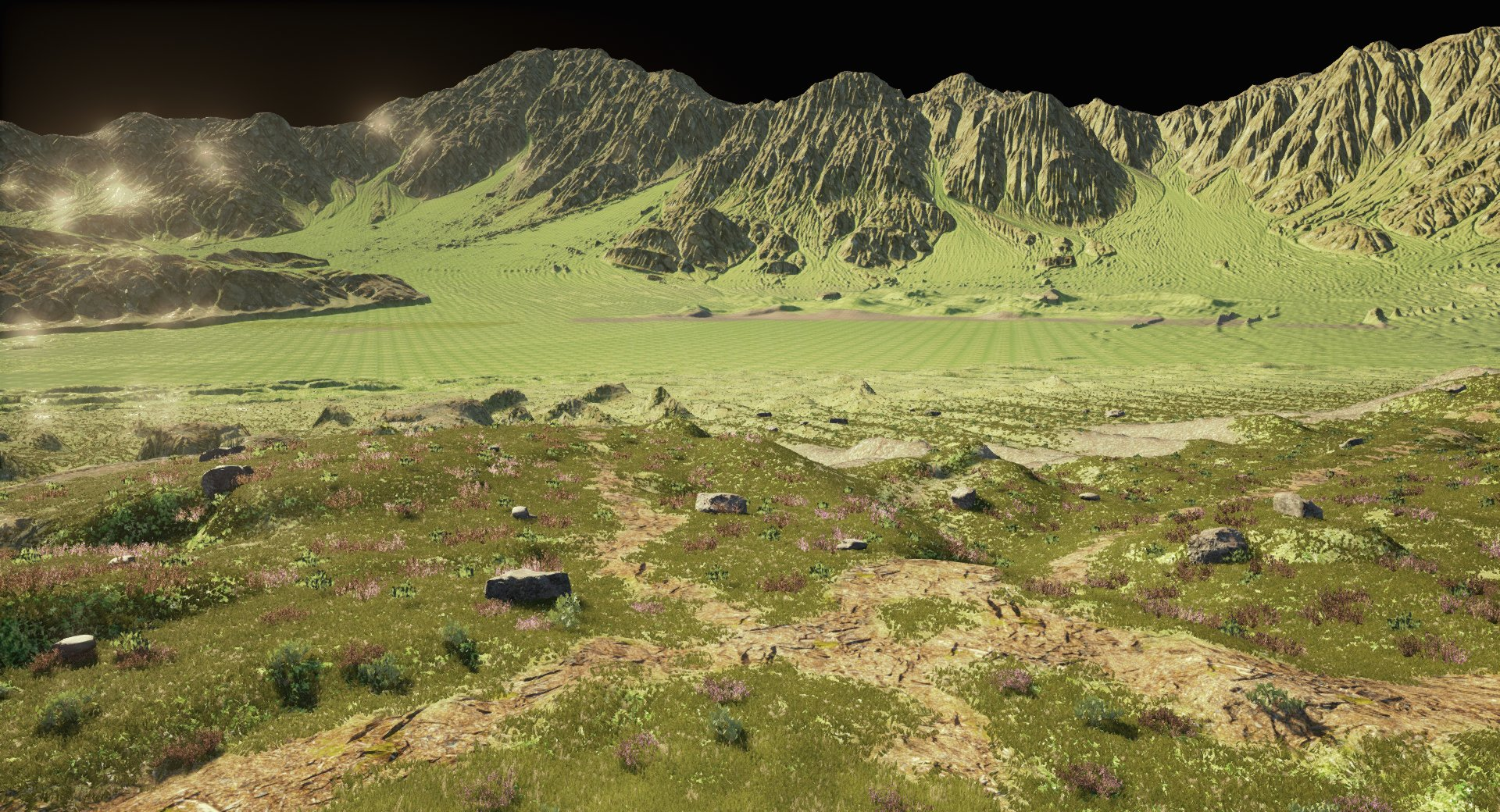 ArtStation - Landscape Study created with World Machine and UE4
