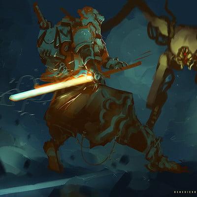 Benedick bana lightning blade lores