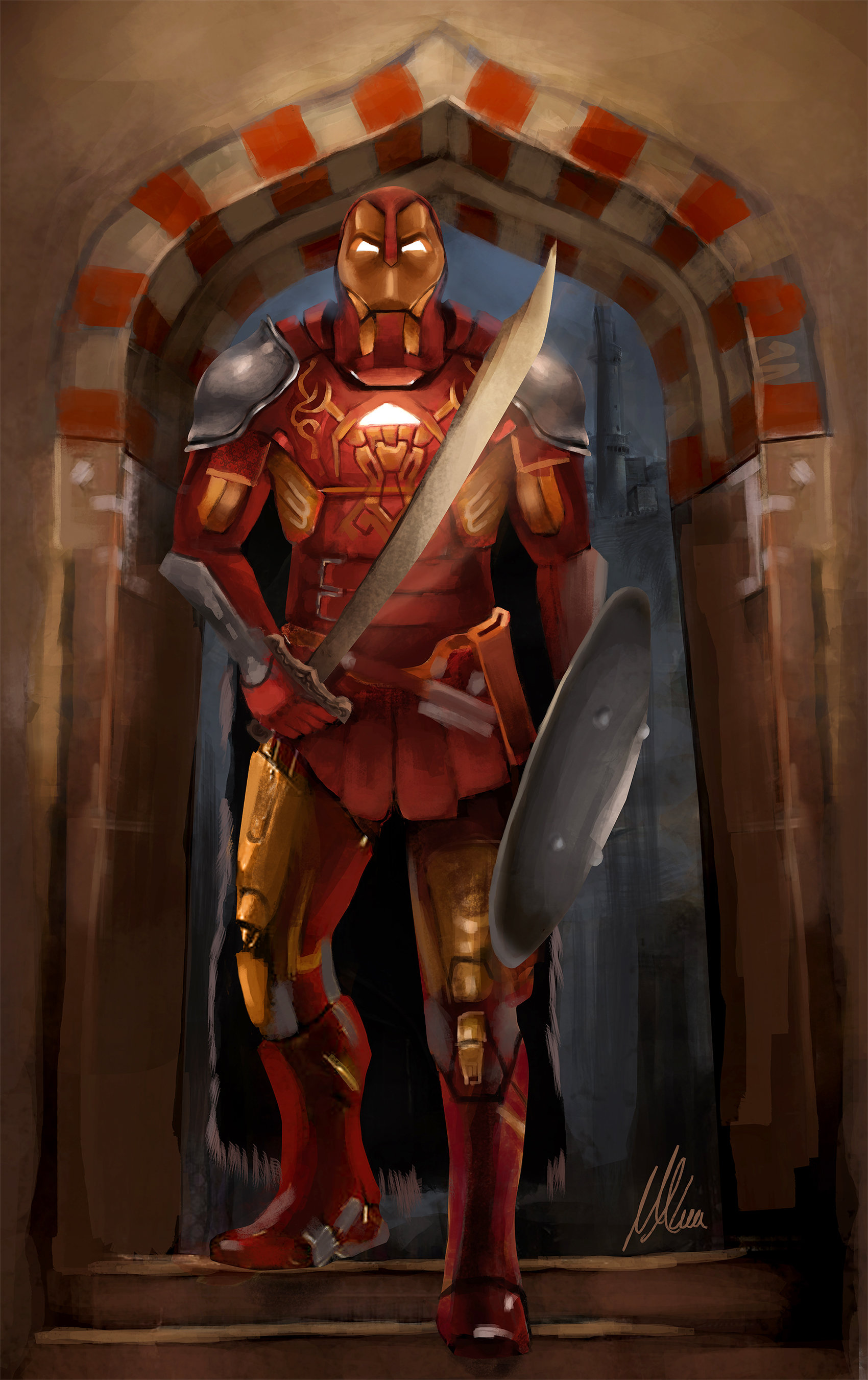 Mohamed alaa iron man new concept