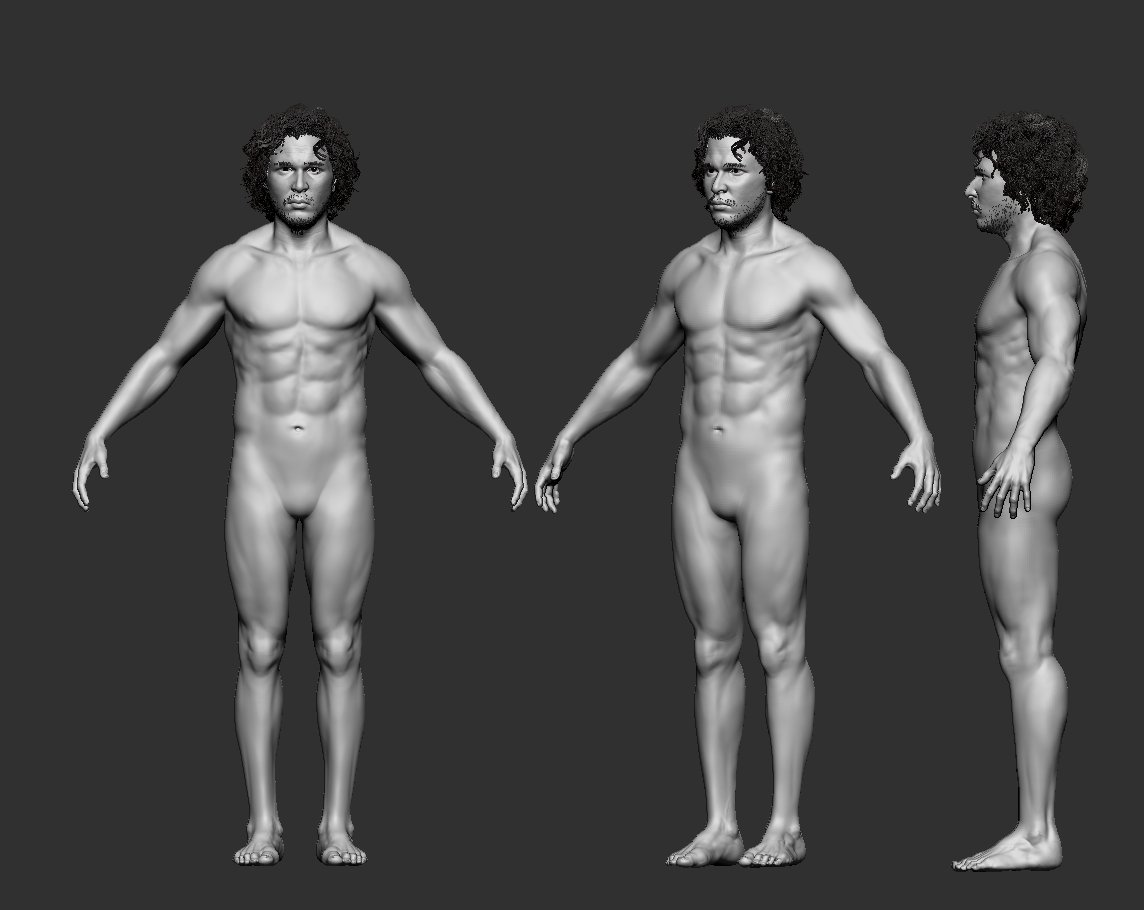Body Proportions update.