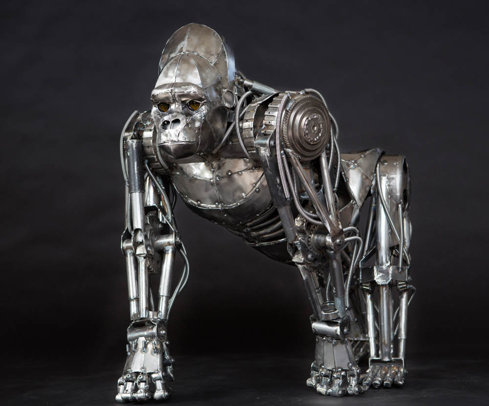 Andrew chase mechanical metal gorilla 1 1