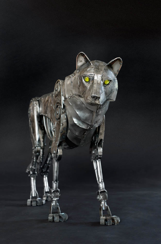 Andrew chase mechanical metal wolf 2