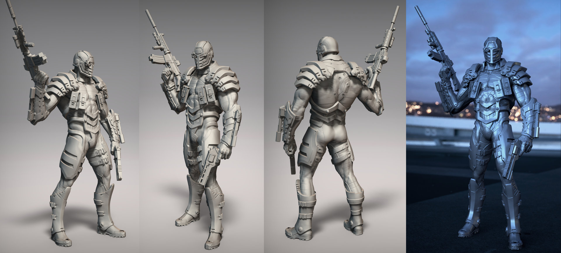 David giraud deadshot wed renders