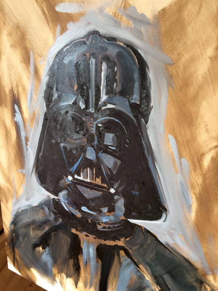 The Frisbeeman Darth Vader 04