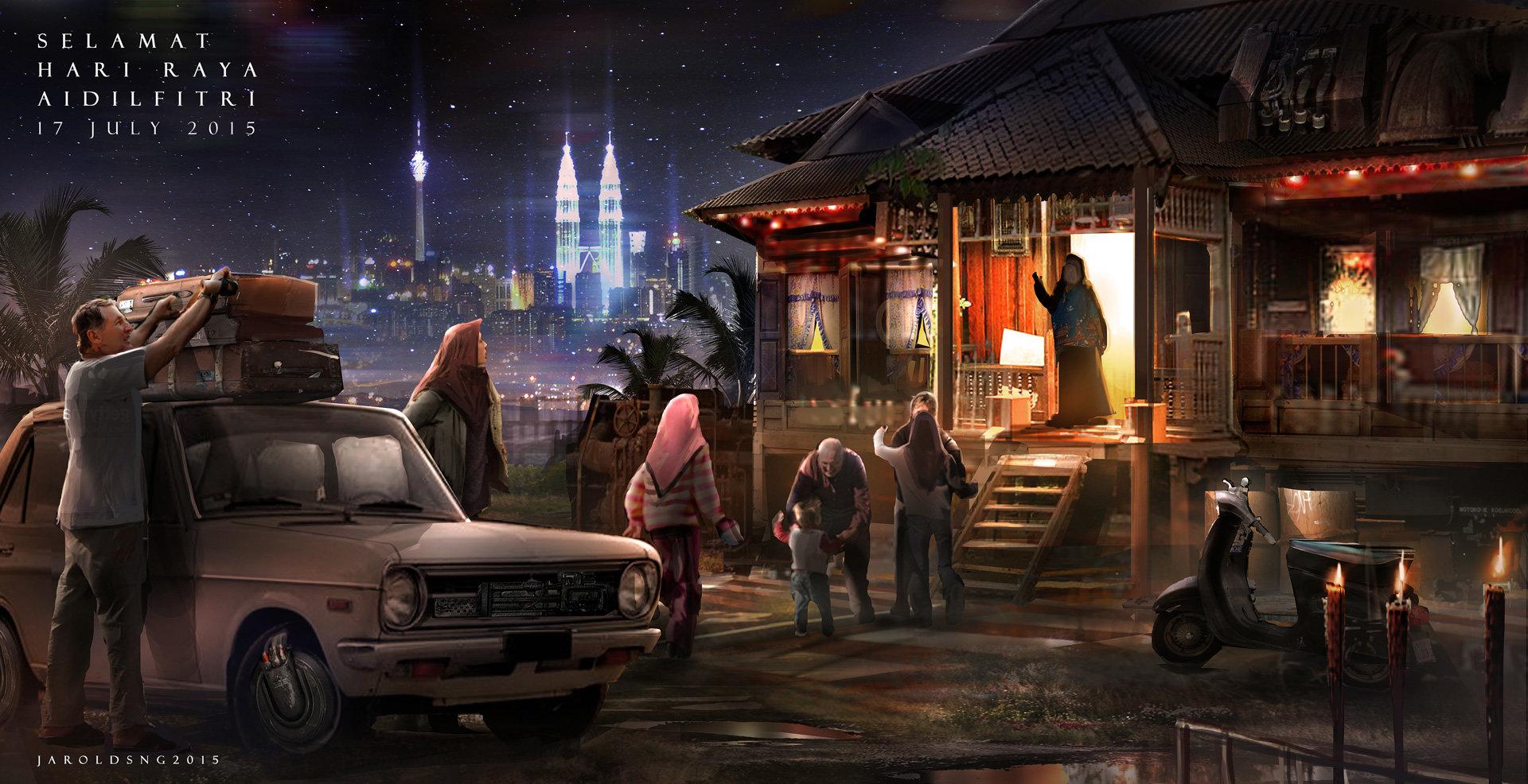 Jarold sng raya 2015