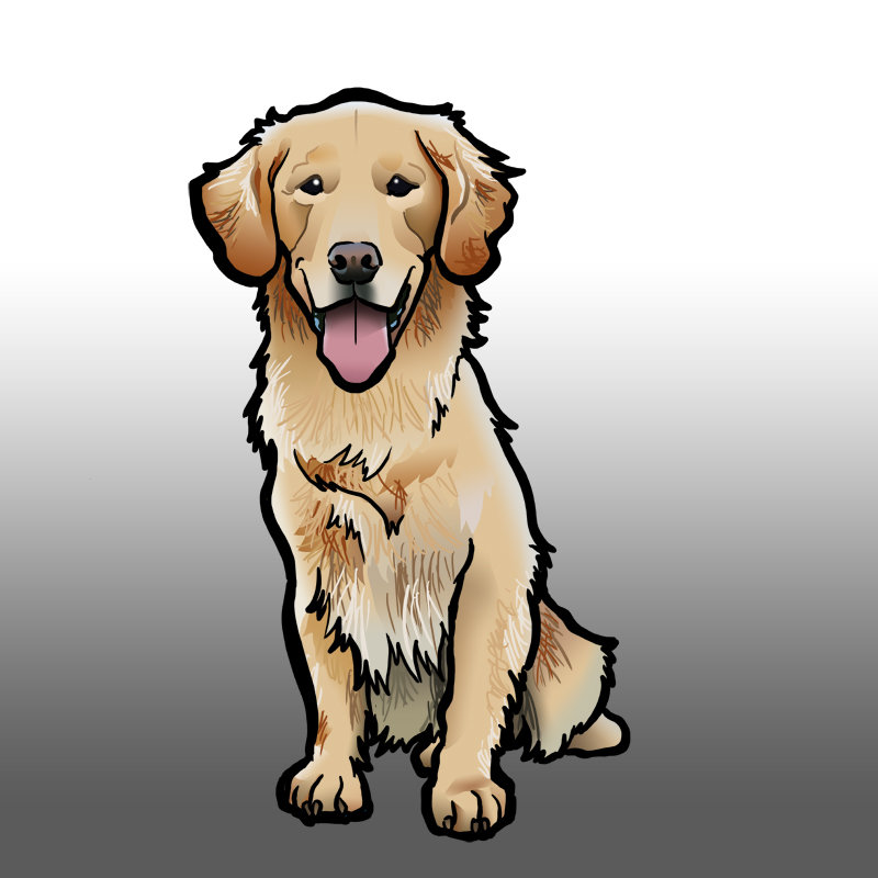 Steve rampton golden retriever