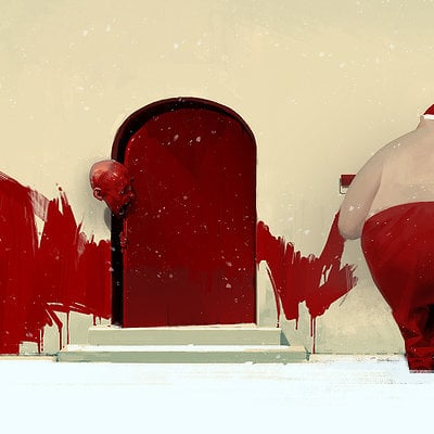 Sergey kolesov red door