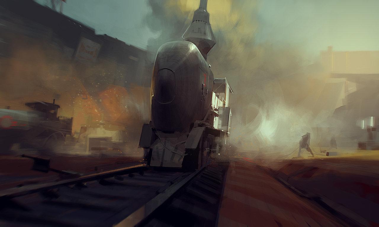 Sergey kolesov train