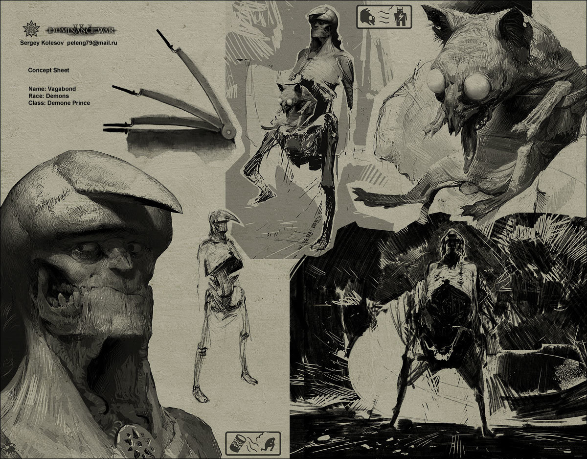 Sergey kolesov vagabond concept