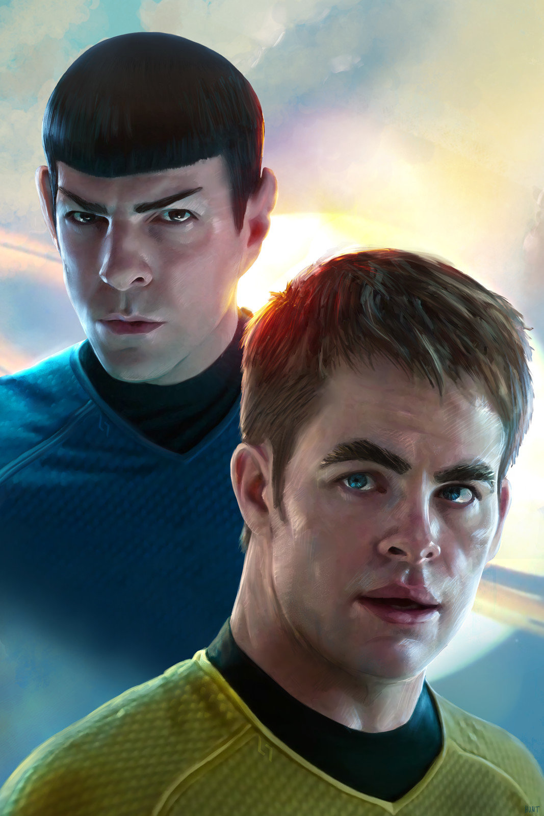 Andrew hunt new star trek final