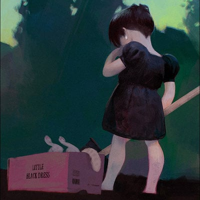 Sergey kolesov little black dress