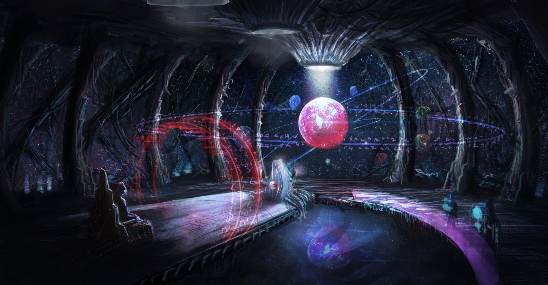 alien inside ship - HD1600×833