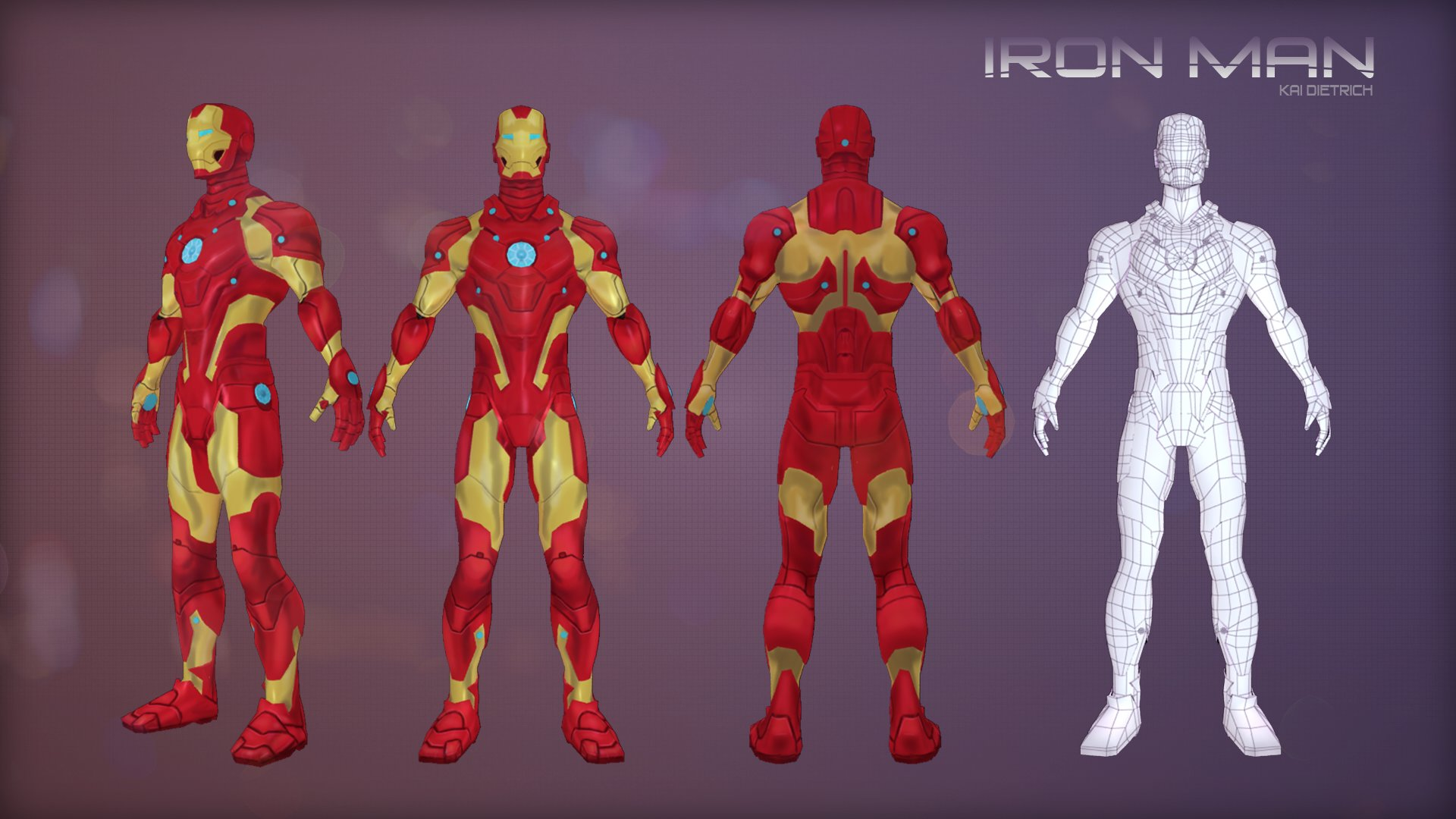 ArtStation - Iron Man, Kai Dietrich