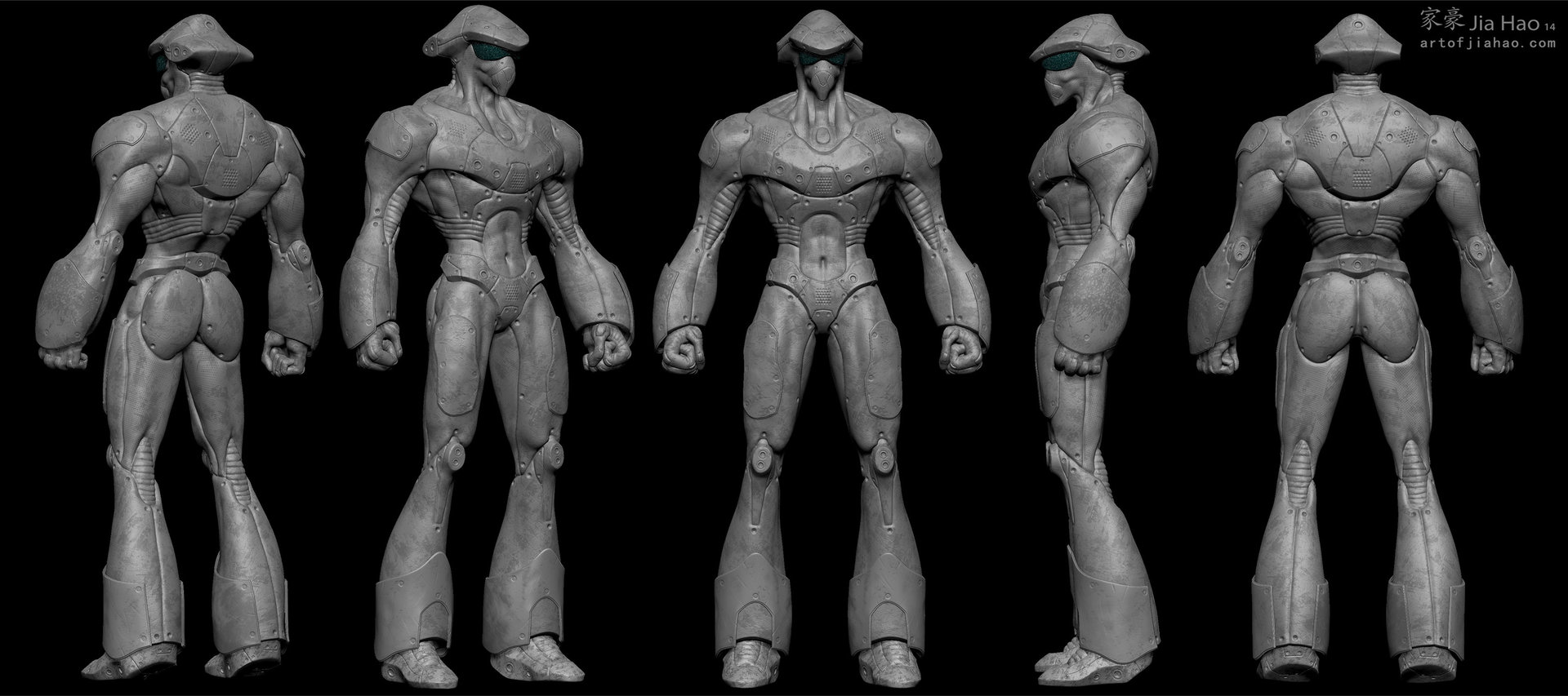 Jia hao 2014 02 cyberboxer views sculpt