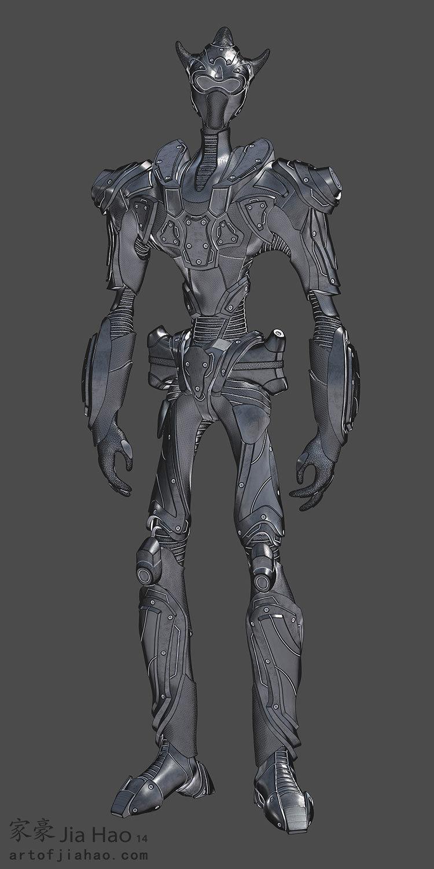 Jia hao 2014 03 alienarmor 01 still sculpt