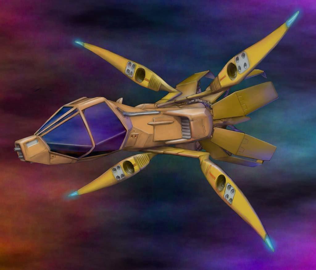 Gary myers ataxianfighterpaint02