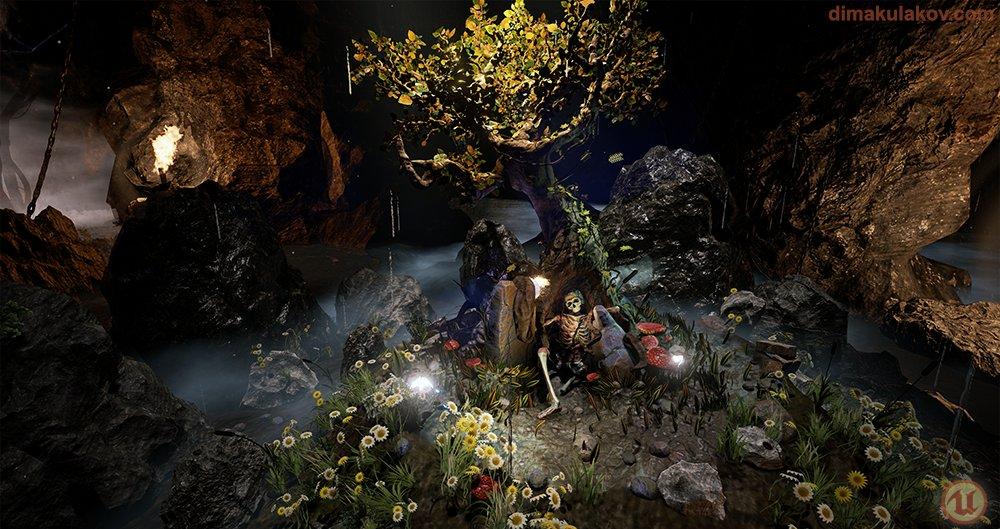 Tree Scene - UE4