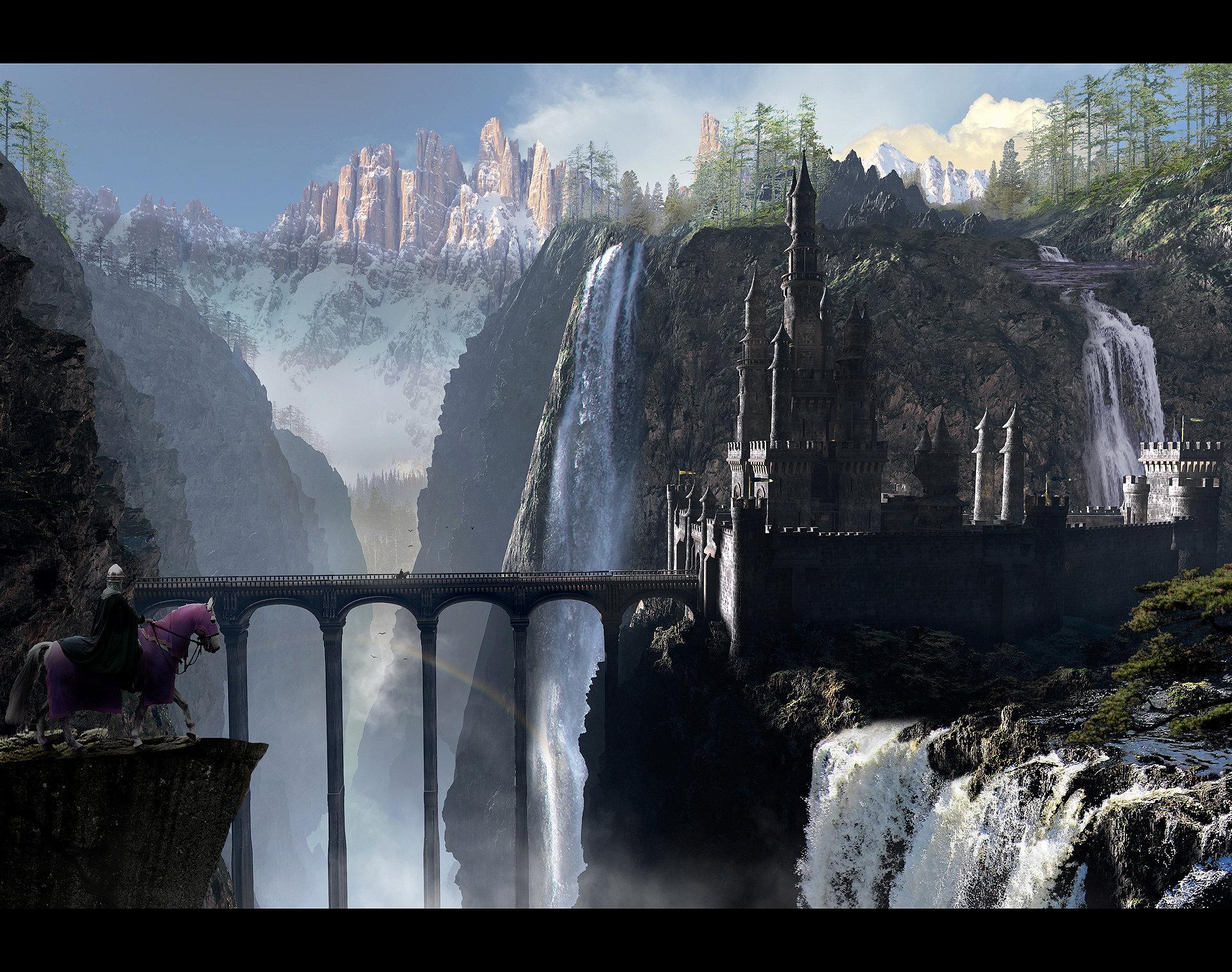 Scott richard tlg waterfall castle 1920 desktop by rich35211 d5u5rwv