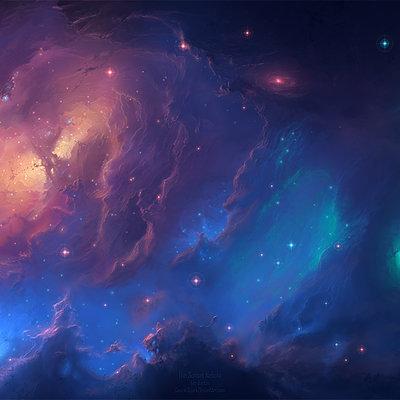Tim barton sunset nebula 1600