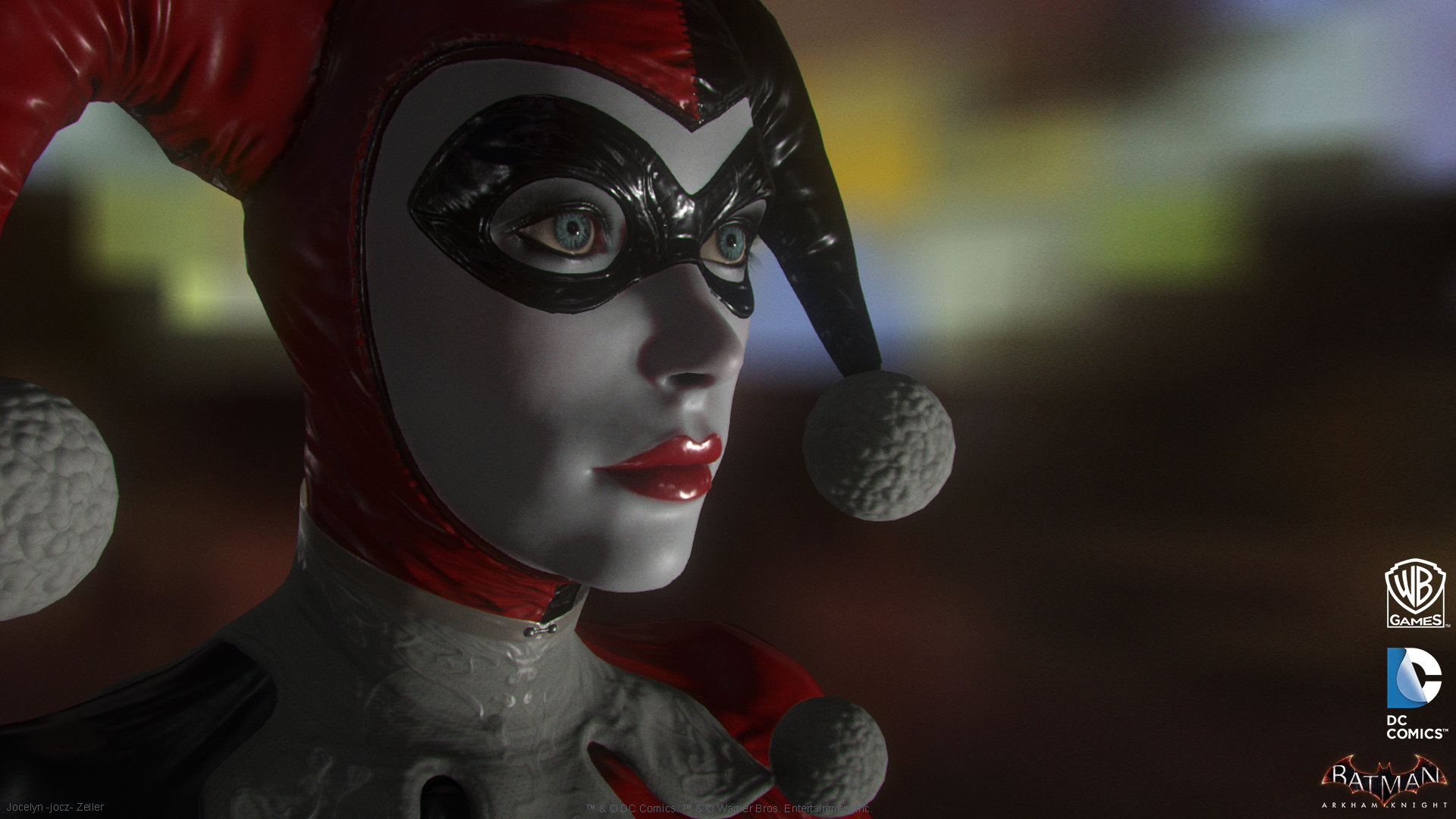 Artstation Batman Arkham Knight Dlc Harley Quinn Game Model