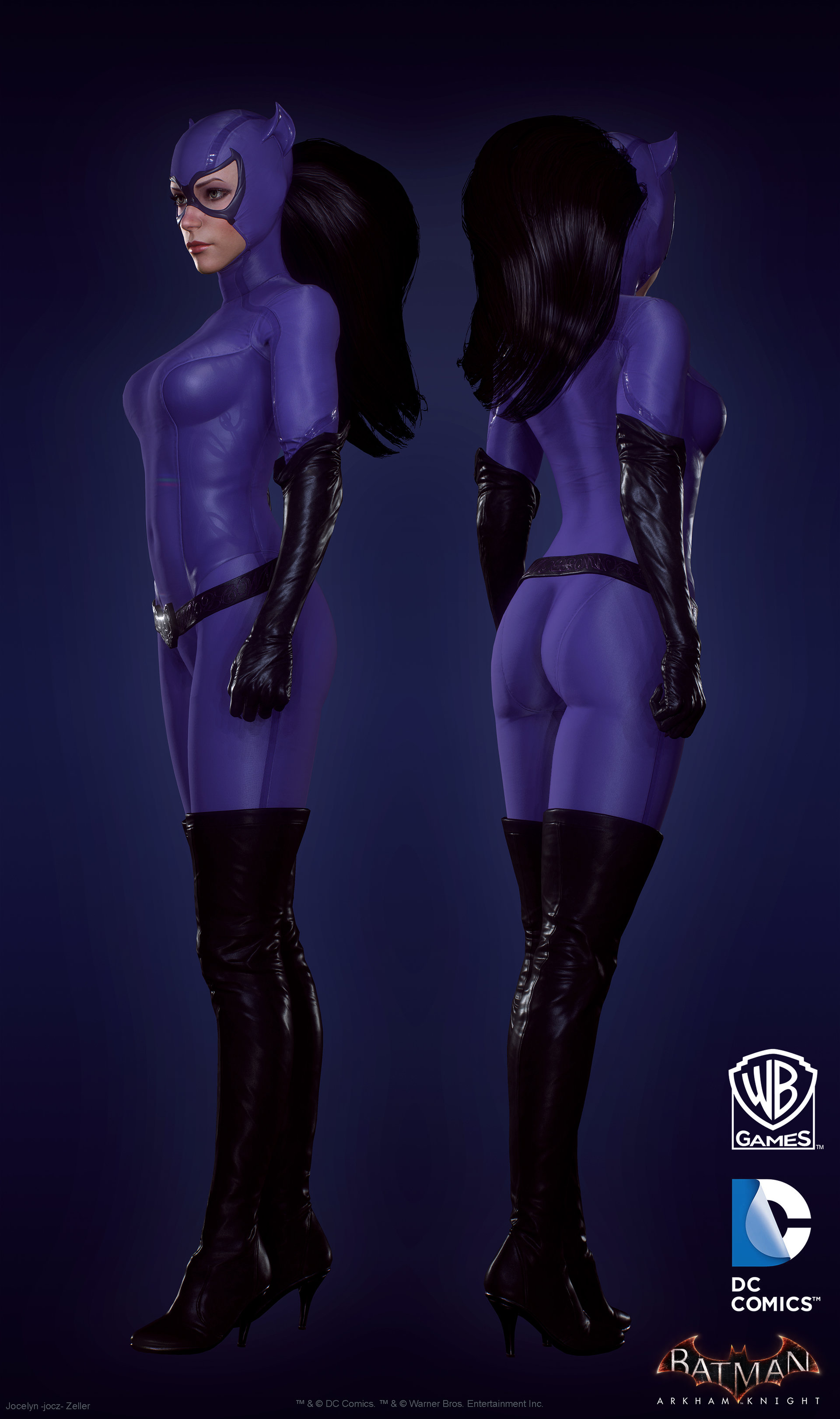 Arkham catwoman sex naked videos