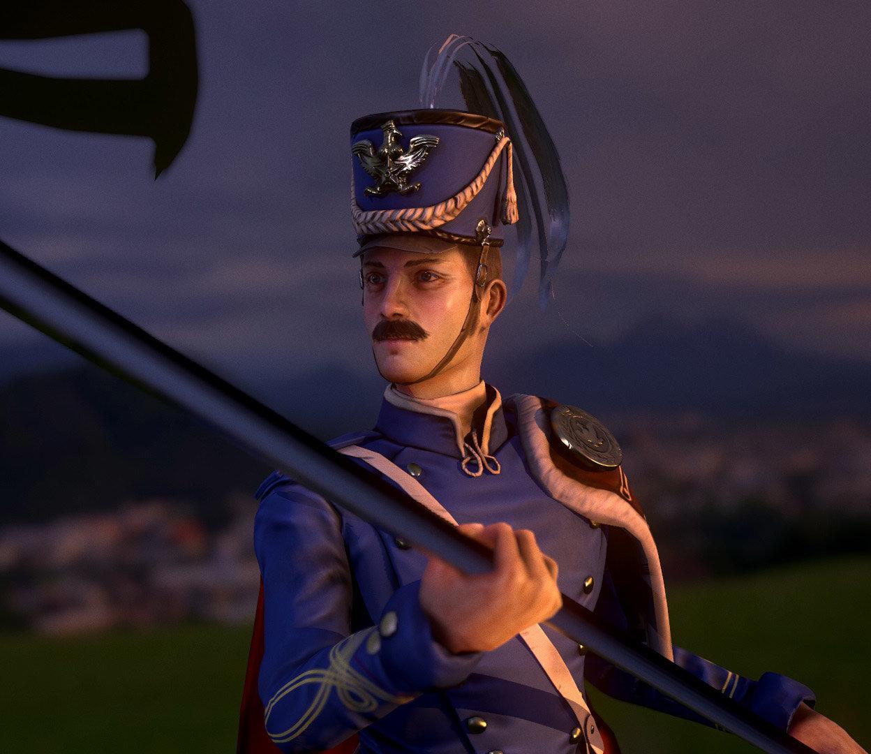 Luis santander soldier 1