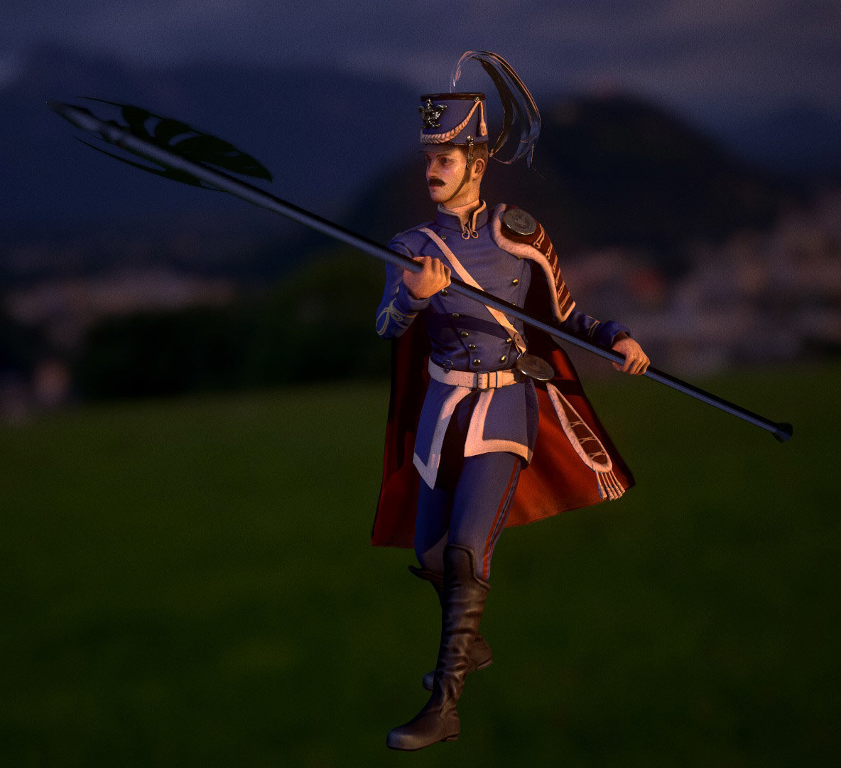 Luis santander soldier 3