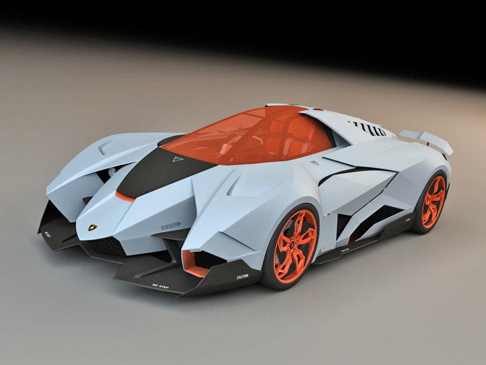 Wiktor Urbanczyk Lamborghini Egoista Concept 2013