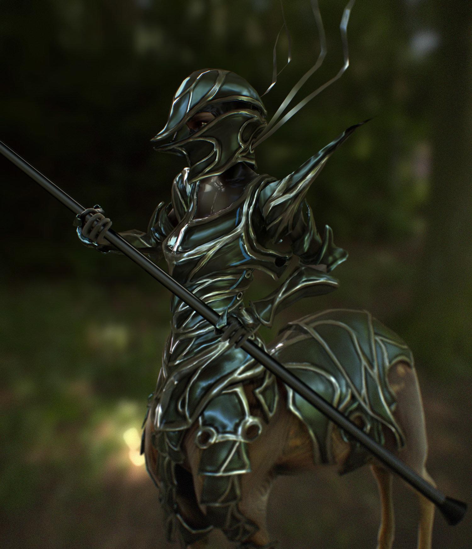 Luis santander armored deertaur 2