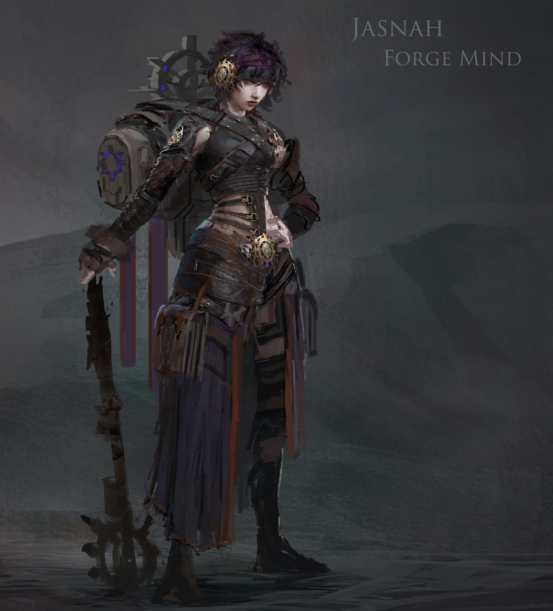 Muyoung kim prpg shadow hero lvl 2 concept