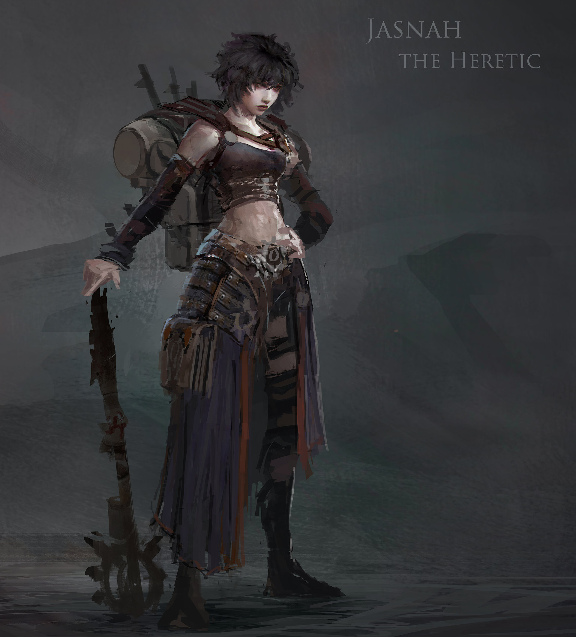 Muyoung kim prpg shadow hero lvl 1 concept