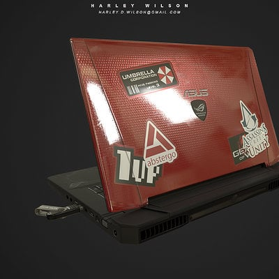 Harley wilson laptop4
