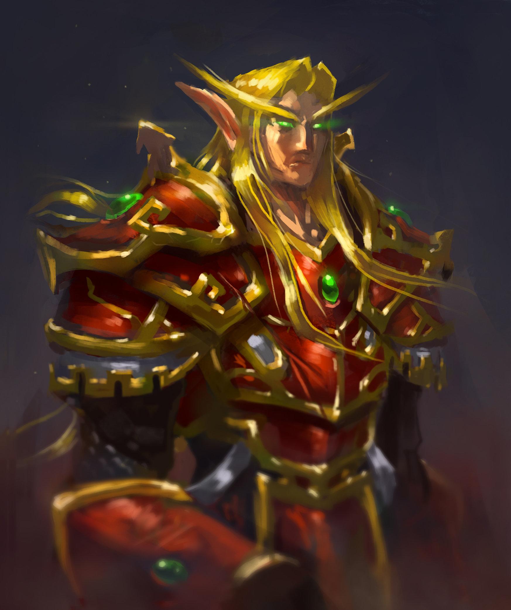 Blood Elf Concept Art