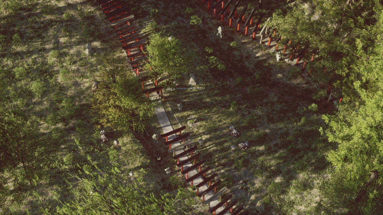 ArtStation - Fushimi Inari forest - Metaverse VR contest