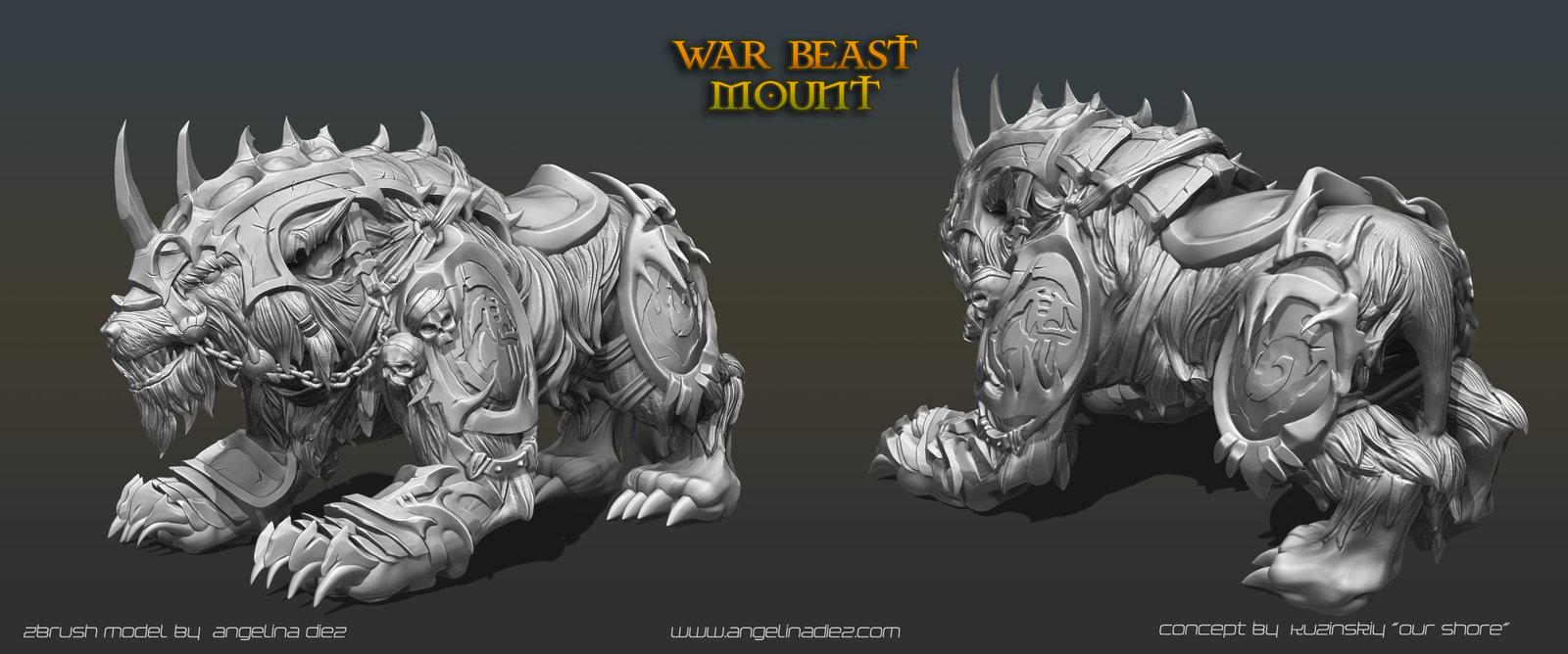 Warbeast Mount