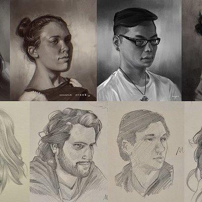 Alexander minze thumler portraits