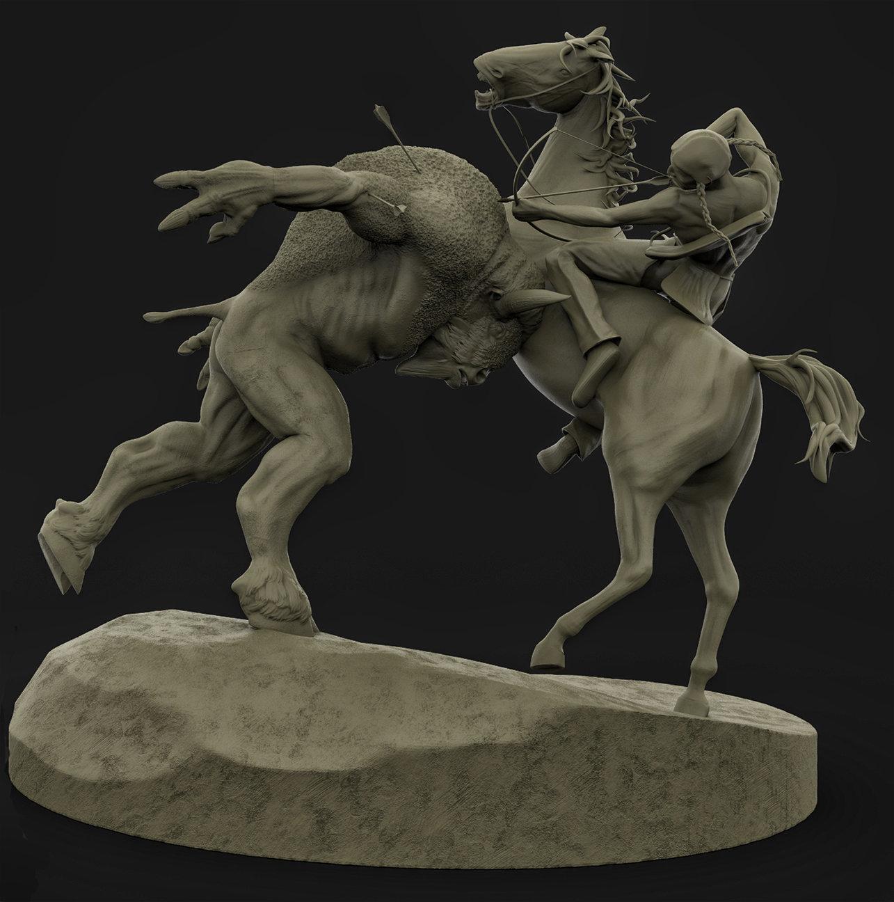 Derek pendleton montanataur claystudy battle 01