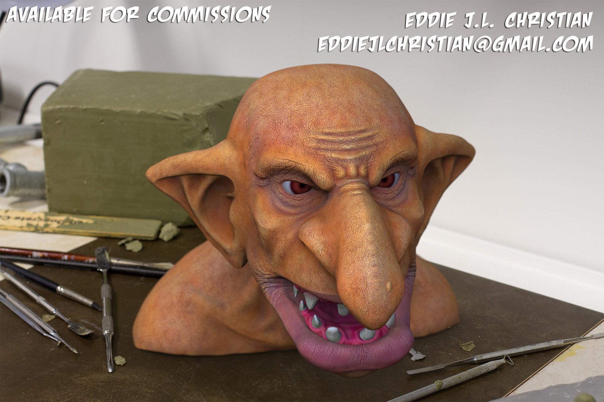 Eddie christian orc promo