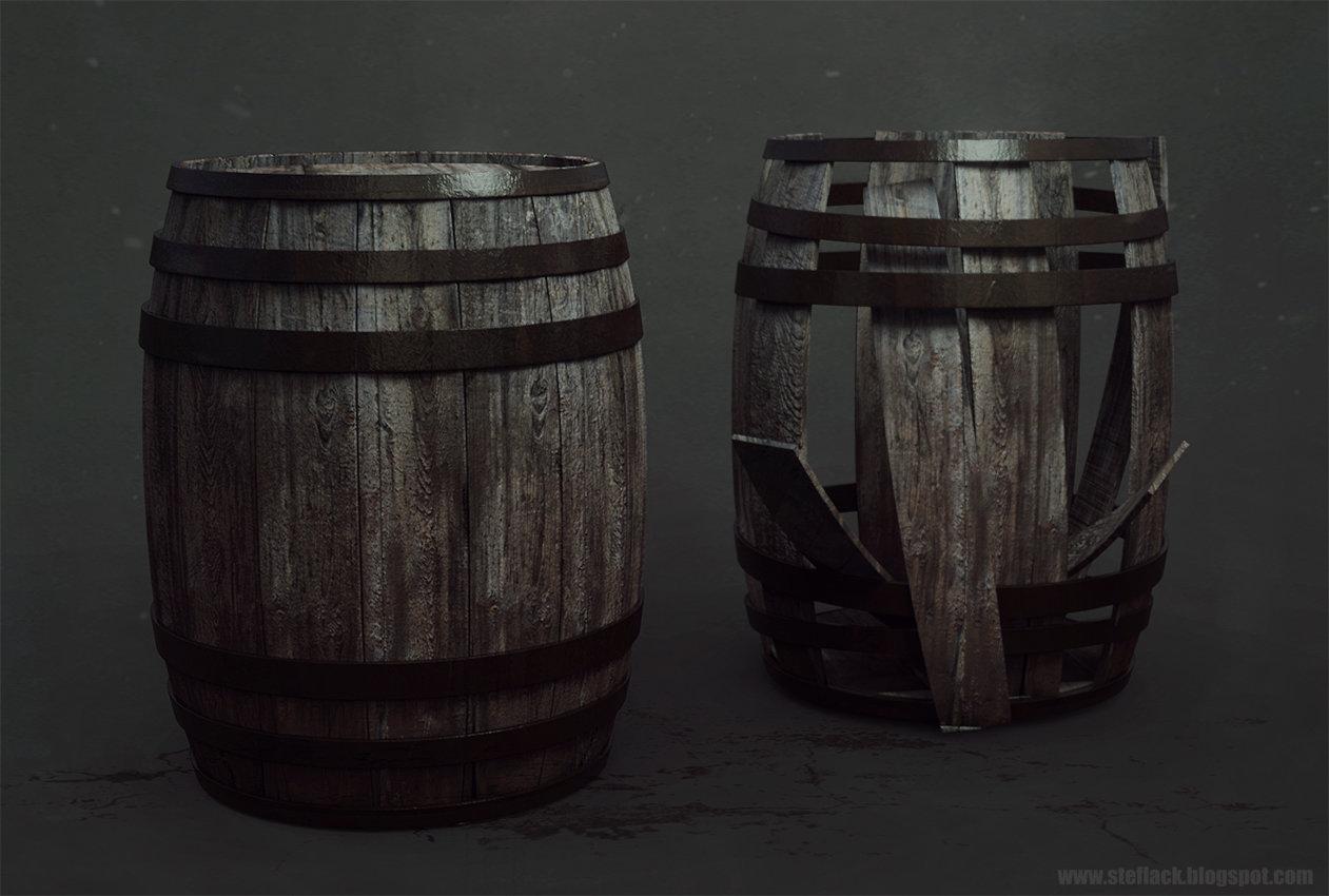 Ste flack barrel
