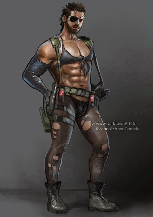 Anne pogoda metal gear solid v big quiet boss xd by zombiesandwich d6lio0e